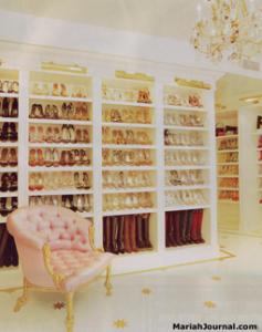 El vestidor de Mariah Carey