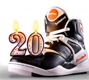 Pump de Reebok cumple 20 años