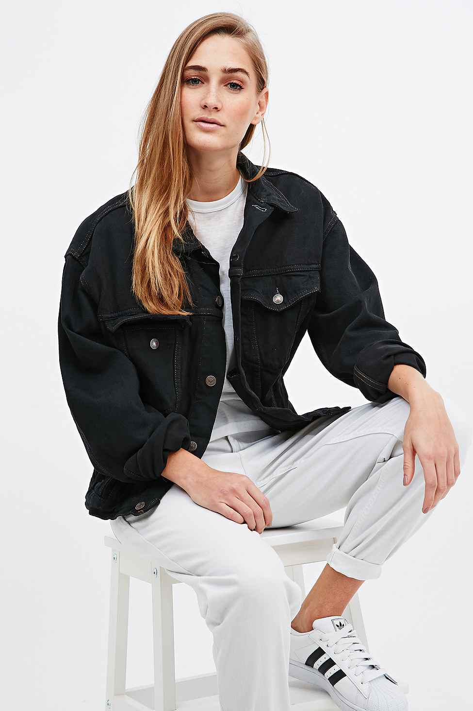 chaqueta oversize outfitters