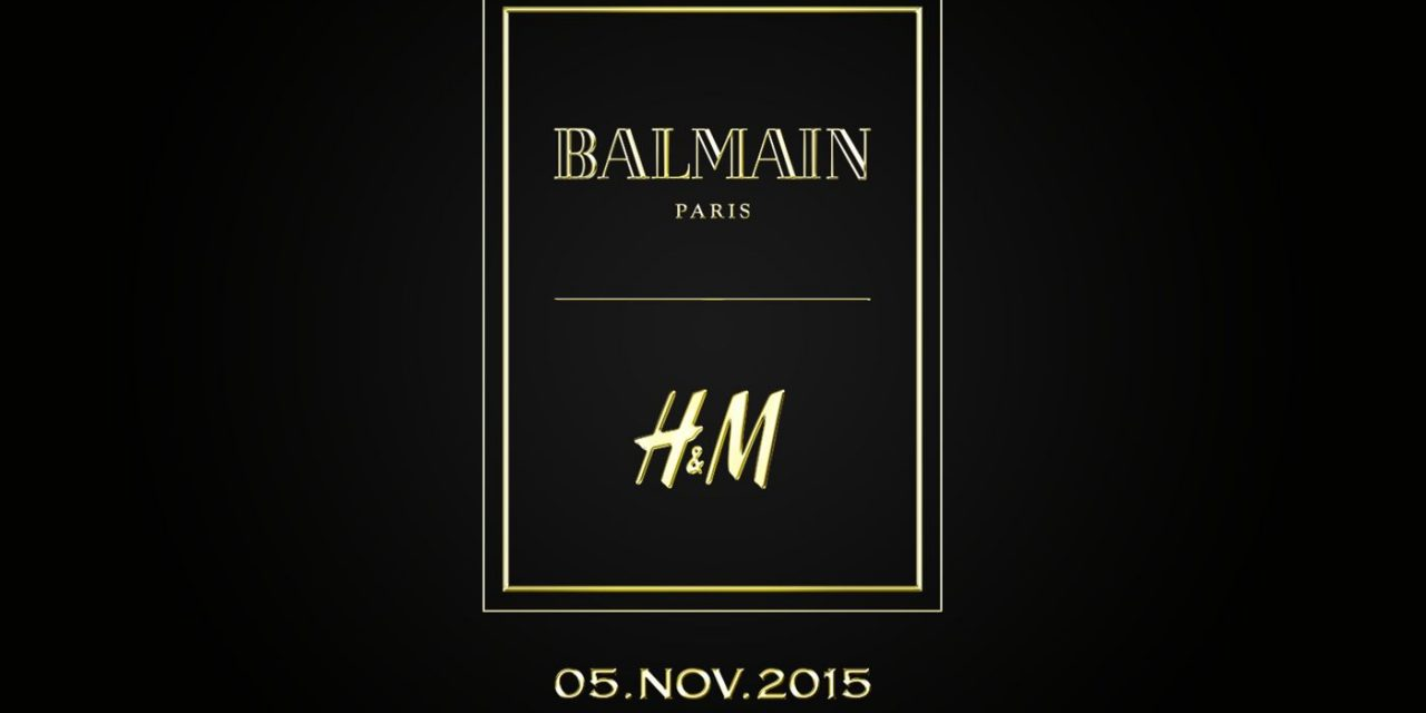 Balmain y H&M: Colección H&MBalmaination