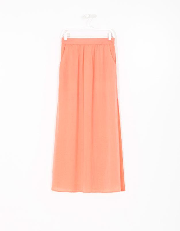 falda larga - lefties