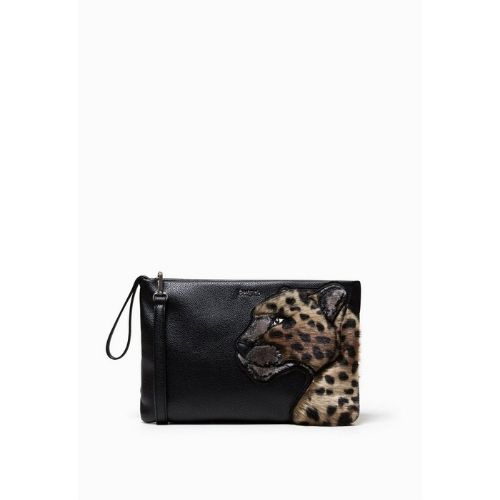 bolso de leopardo de desigual