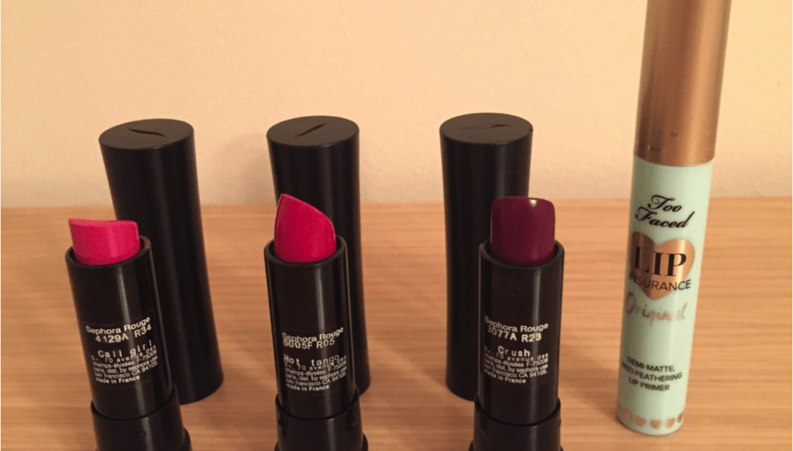 Review de labiales Sephora