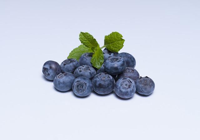 Frutas del bosque - Arándanos