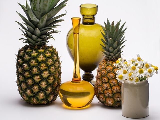 Frutas diuréticas - Piña