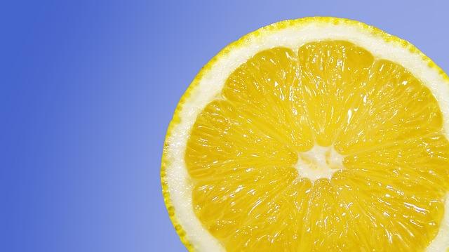 Frutas con vitamina C - Limón
