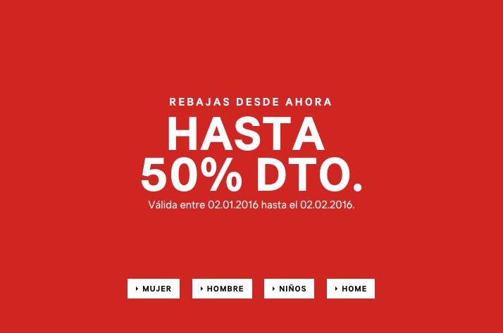 Rebajas HM – Invierno 2016