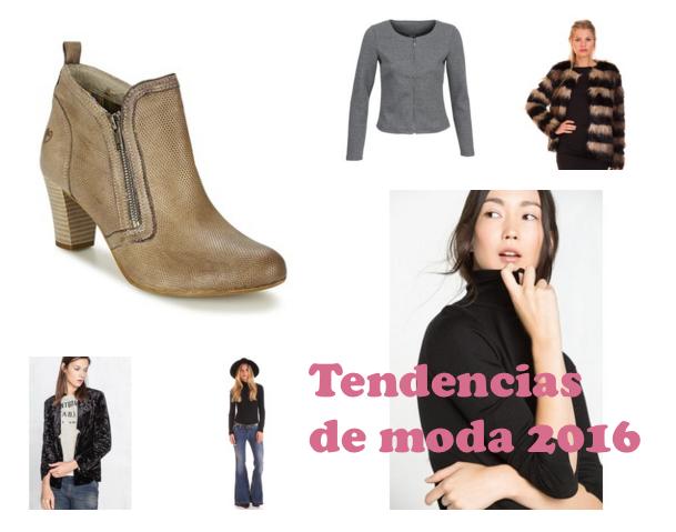 Tendencias de moda para 2016
