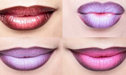 Efecto ombre, estilo en tus labios