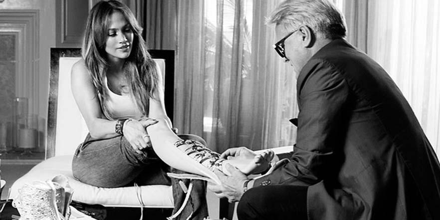 Jennifer López presenta su colección de calzado