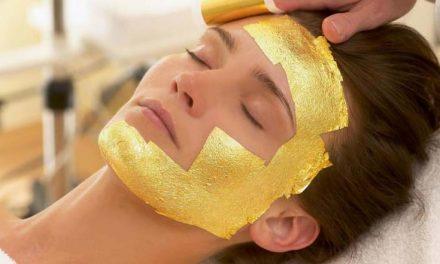 Oro, cosmética de lujo a tu alcance