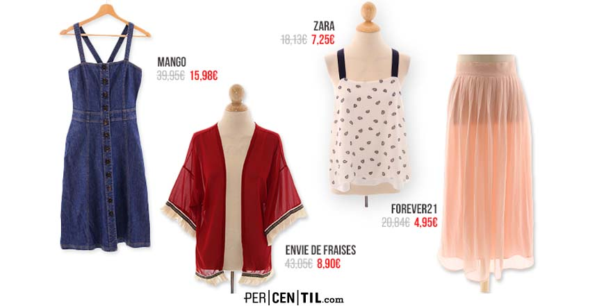 PERCENTIL, moda a precios increíbles