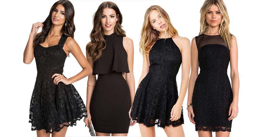 Sí a los vestidos negros en verano
