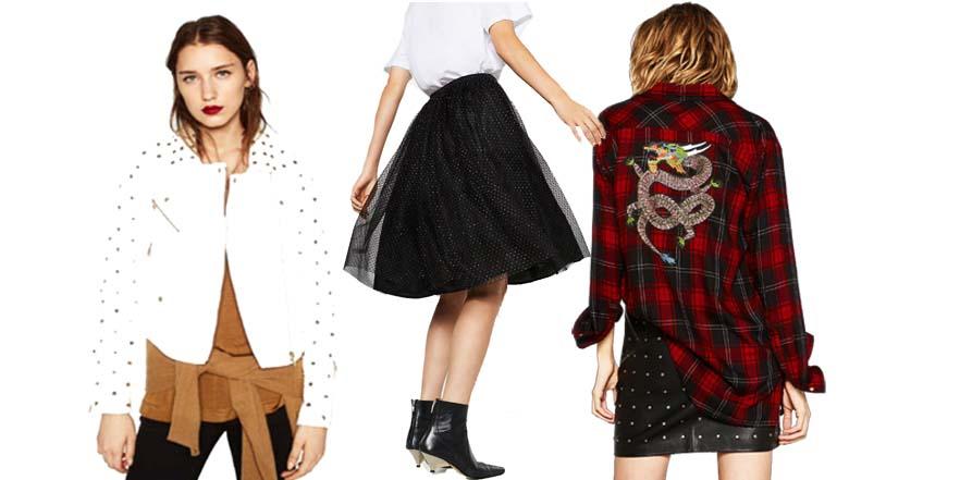 Zara lanza su colección Punk Romance
