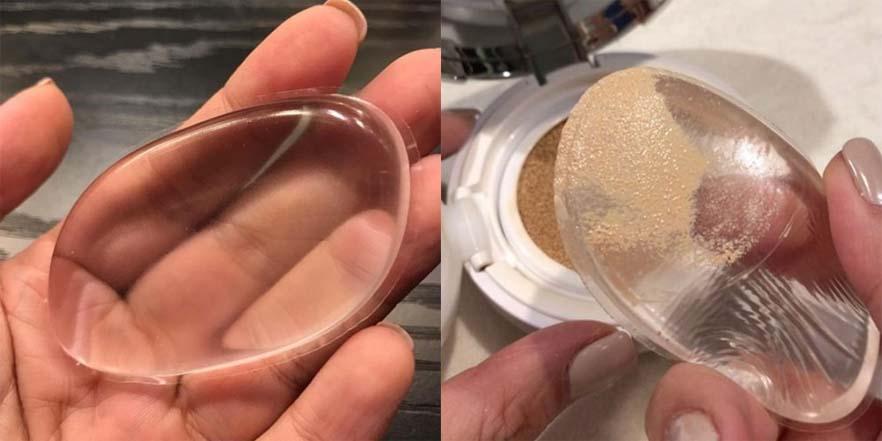Esponja de silicona para maquillaje