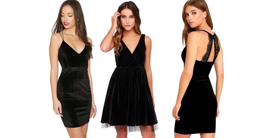 Ideas para vestir de terciopelo en Nochevieja