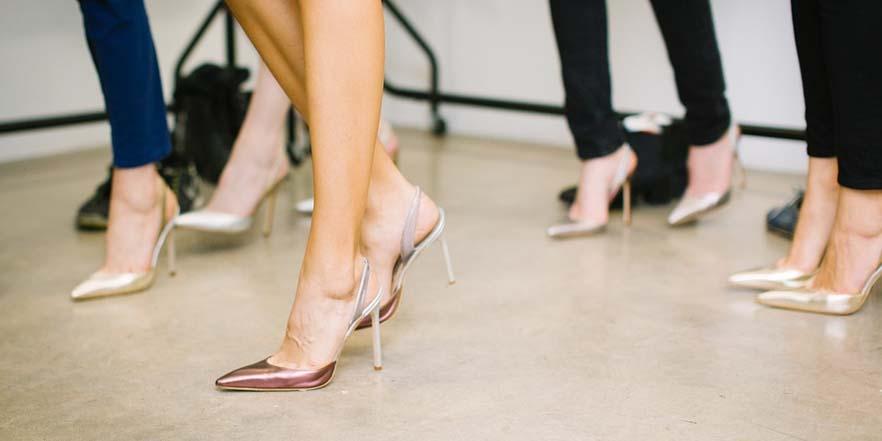 Ventajas de utilizar zapatos de tacón