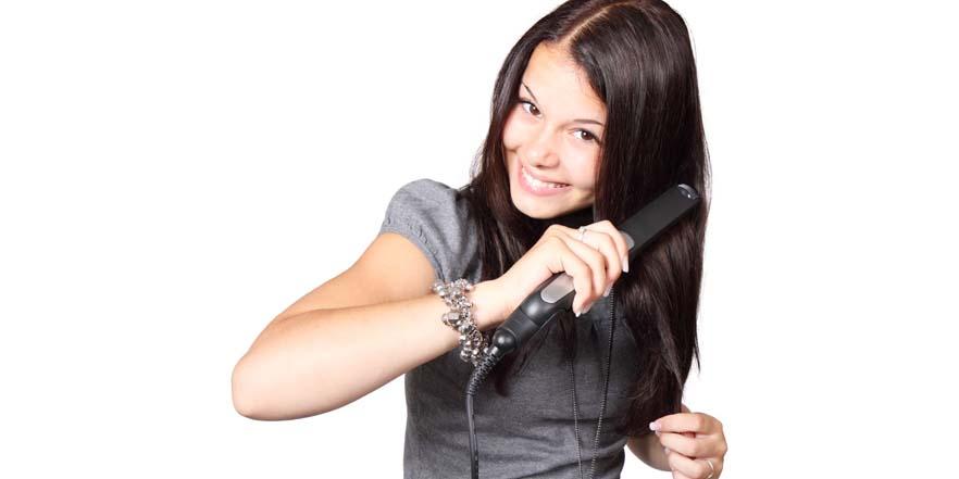 Consejos para usar la plancha del pelo