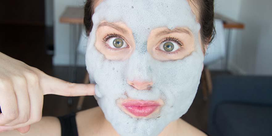 Bubble mask, el cosmético coreano que arrasa