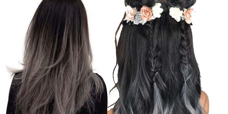 Charcoal hair, el color que te enamorará