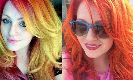 Úrsula Goff revoluciona los tintes de pelo