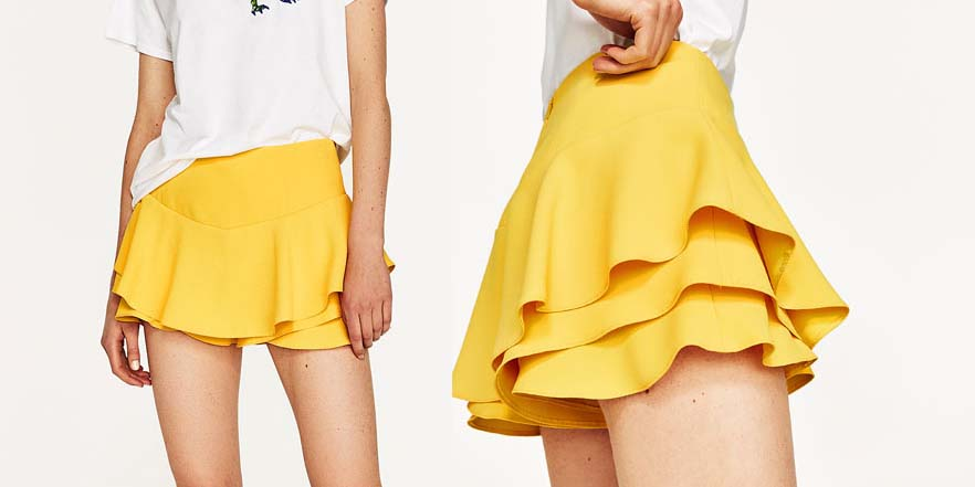 falta pantalon short rebajas Zara