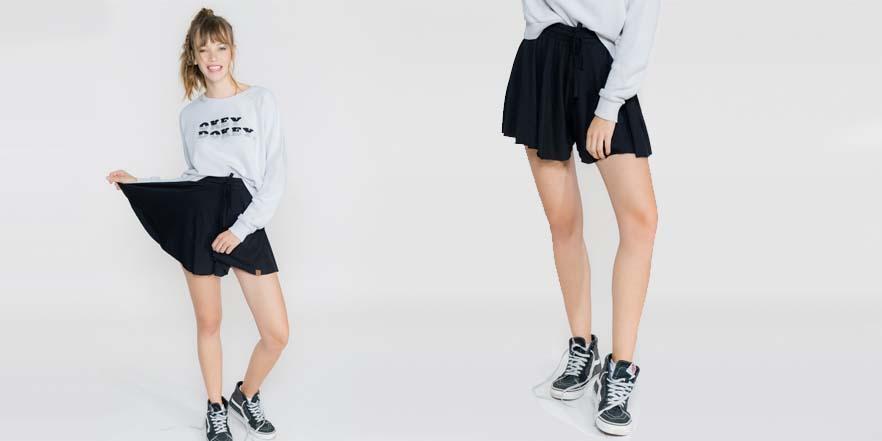 minifalda rebajas verano 2017 double agent