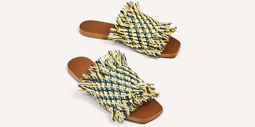 palas de verano de Zara