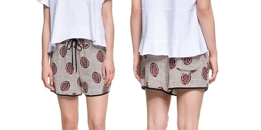 shorts rebajas verano 2017 Bimba y Lola