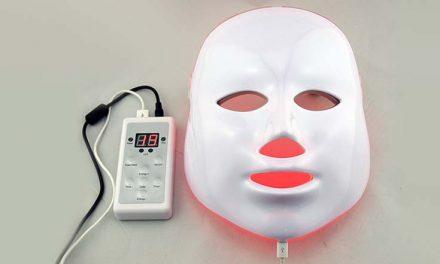 La máscara LED que está revolucionando a las famosas