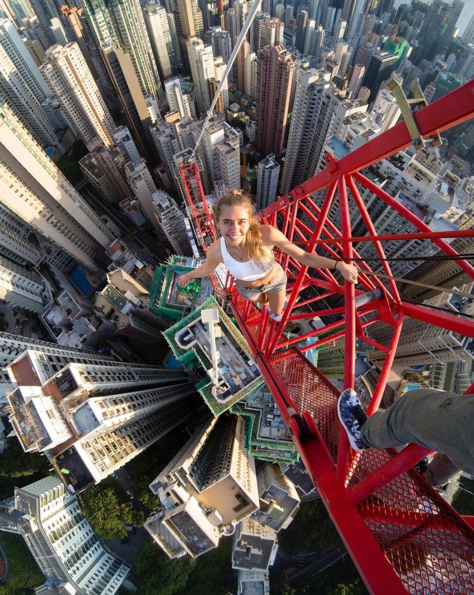 Selfies en las alturas