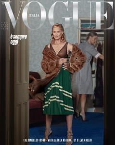 """Lauren Hutton: la potente y (más) longeva """"chica Vogue"""""""