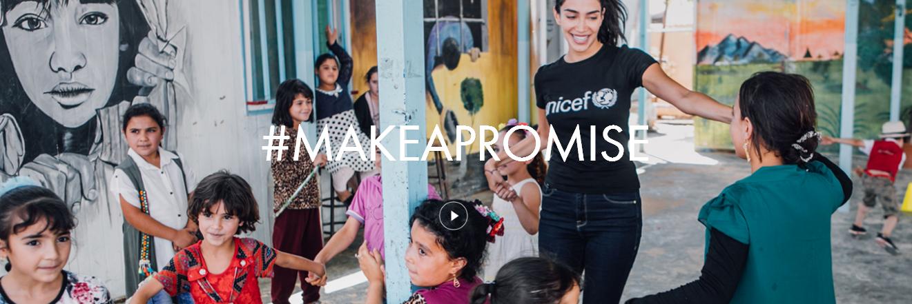 #MakeAPromise, y dona a favor de los niños afectados en la guerra de Siria