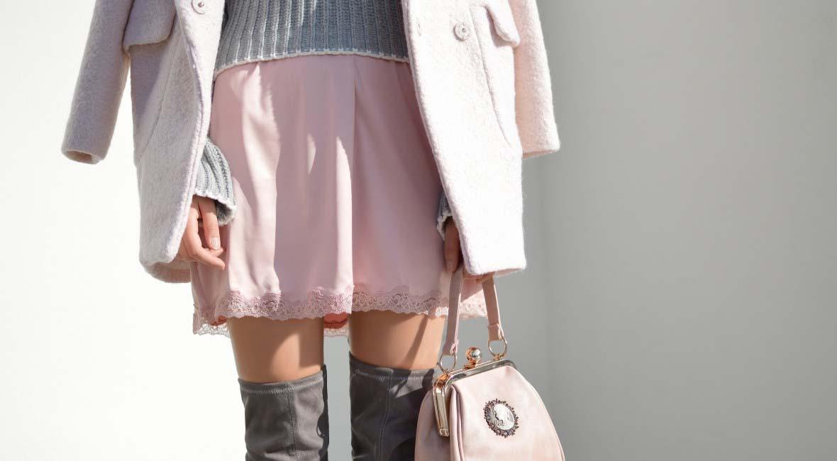chica-con-falda