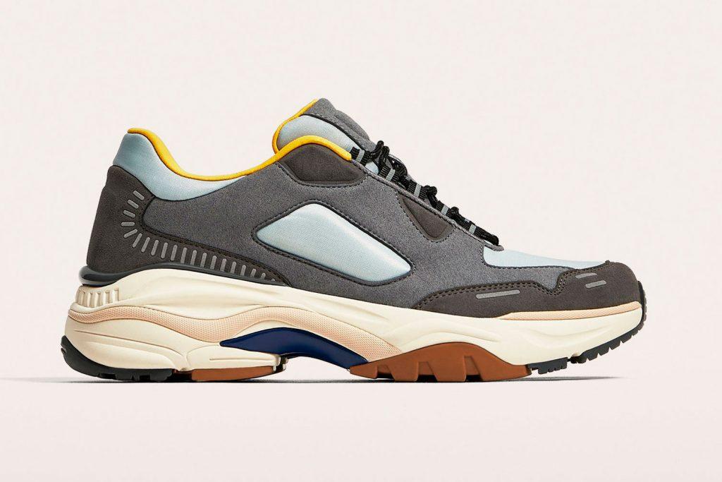 ugly sneakers de zara