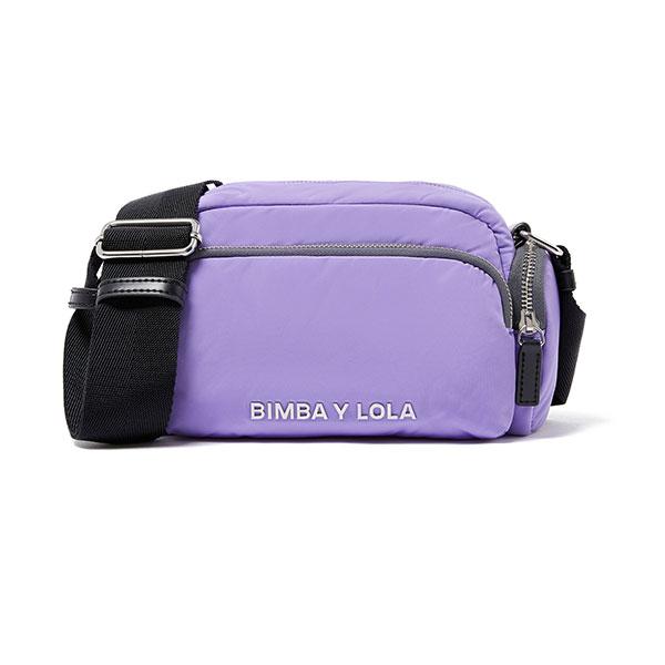 bolso lila bimba y lola