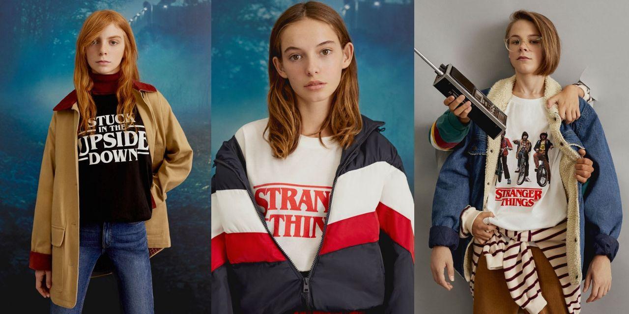 Pull & Bear y Stranger things se unen para crear la colección que querrás llevar esta temporada