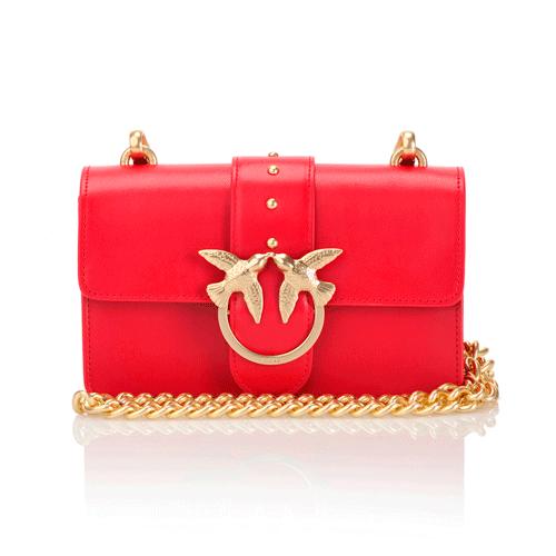 bolso rojo de pinko