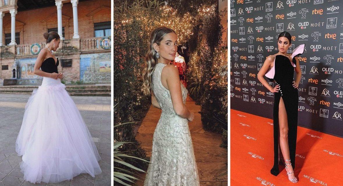 Los vestidos de las influencers que fueron a los Goya 2019