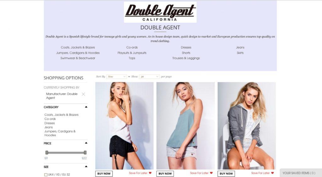 página web double agent