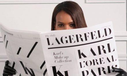 L'Oréal lanzará línea de maquillaje inspirada en Karl Lagerfeld