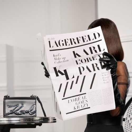 maquillaje loreal karl lagerfeld