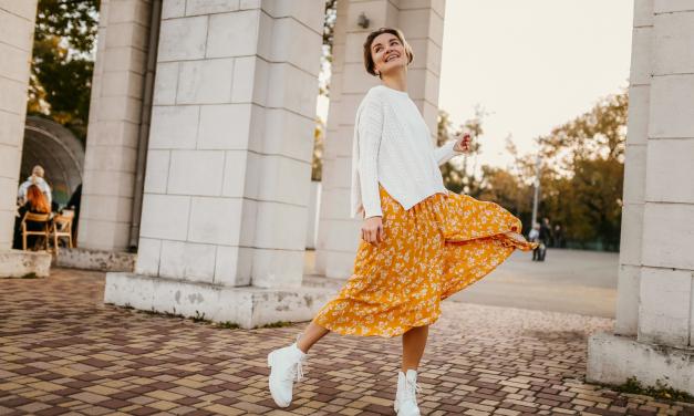 Los vestidos largos más bonitos para el otoño